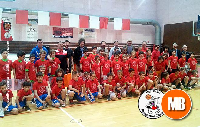 """Bambine e Bambini protagonisti al Torneo Minibasket """"9° Memorial Pierpaolo Parisi"""" di Casarsa"""