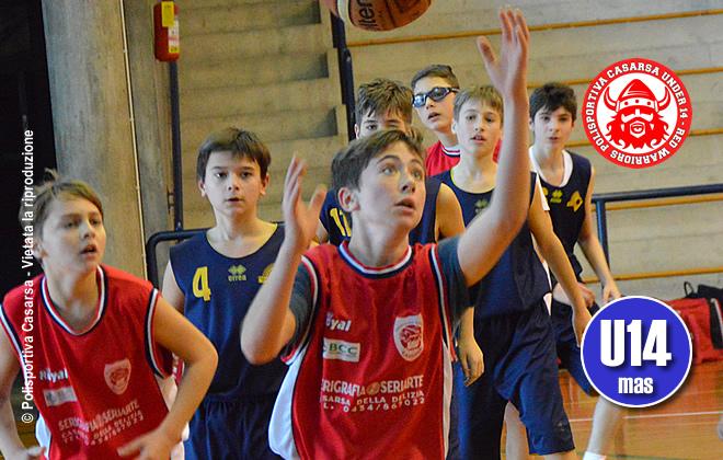 Final four under 14: Casarsa batte anche Gorizia e oggi si gioca il titolo regionale contro Fagagna