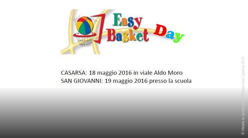 Easybasket Day 2016: facciamo festa!