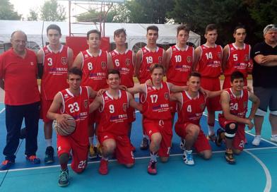 Meritato secondo posto per la Under 16 maschile al Torneo Suoncolora di Fogliano