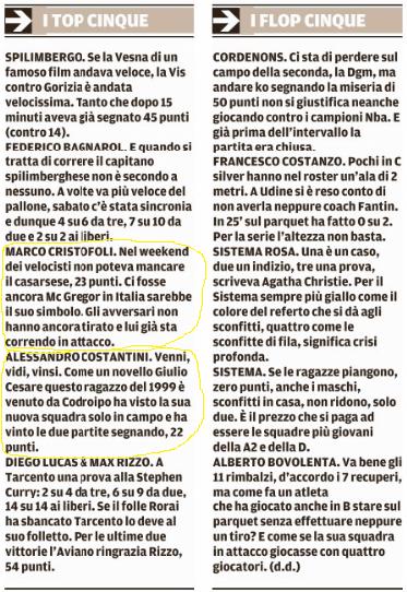Tratto dal Messaggero Veneto del 8-11-2016