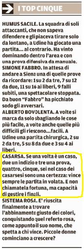 Tratto dal Messaggero Veneto del 22-11-2016
