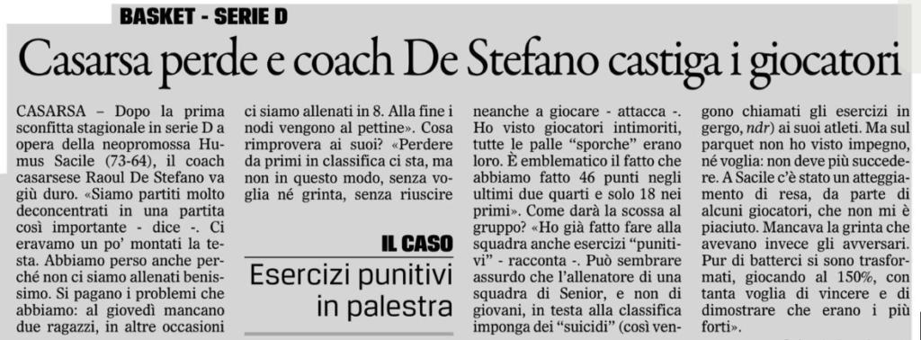 """Tratto da """"Il Gazzettino"""" del 1-12-2016"""