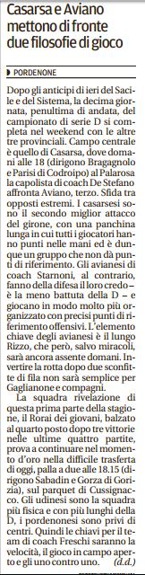Tratto dal Messaggero Veneto del 3-12-16