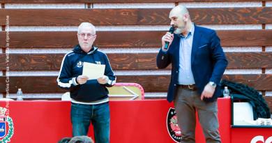Il ringraziamento del presidente Fasan a tutto lo staff del Torneo Internazionale